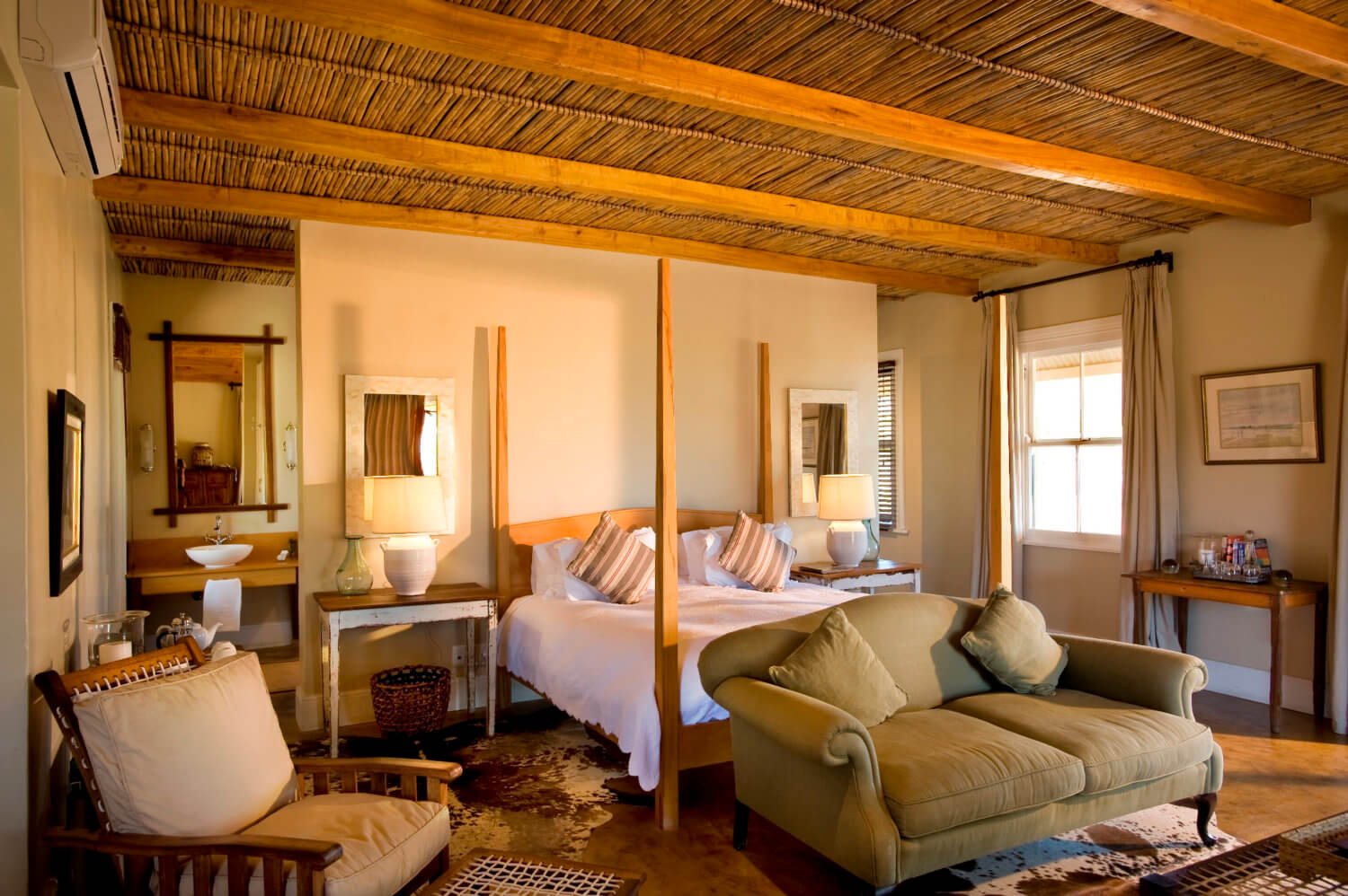 Lodge Bedroom Luxury Karoo Lodge Eastern Cape Game Lodge Karoo Accommodation