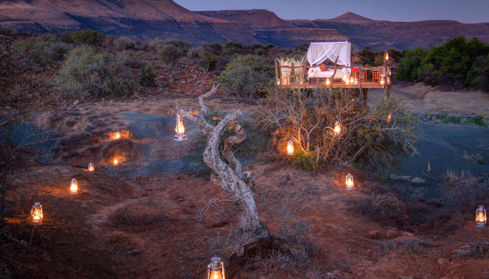 Milky Way Star Bed, Samara Private Game Reserve, Great Karoo, South Africa