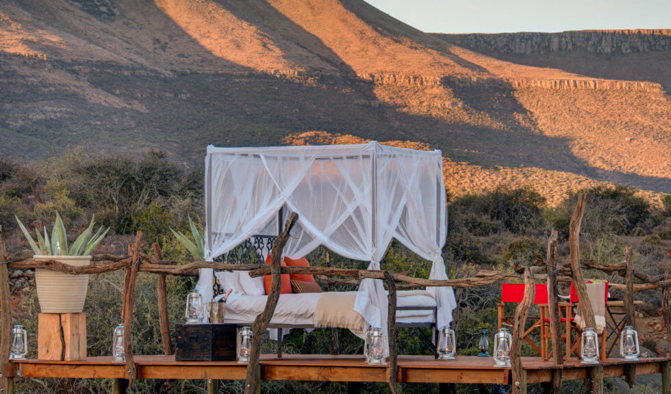 Milky Way star bed at Samara Private Game Reserve, Great Karoo, South Africa