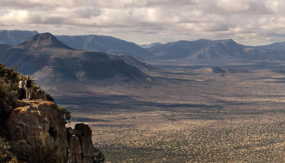 Lookout from Eagle Rock, Samara Private Game Reserve, Great Karoo, South Africa