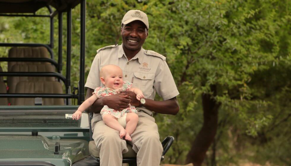 One of the youngest guests at Samara Private Game Reserve, Great Karoo, South Africa