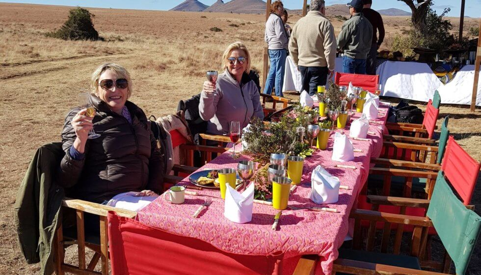 Picnic on the Samara Mara, Samara Private Game Reserve, Great Karoo, South Africa