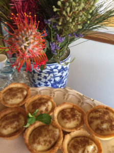 Milk Tart for tea at Samara Private Game Reserve, Great Karoo, South Africa