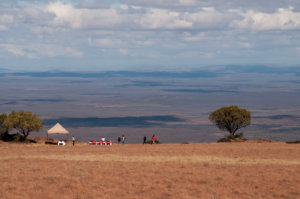 Picnic on the Samara Mara overlooking the Plains of Camdeboo, Samara Private Game Reserve, Great Karoo, South Africa