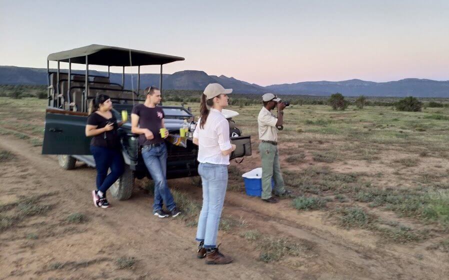 Game drive at Samara Private Game Reserve, Great Karoo, South Africa