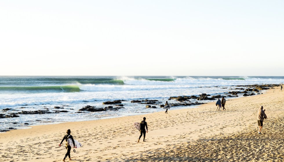 Corona Open J-Bay, Eastern Cape, South Africa. Copyright Kelly Cestari