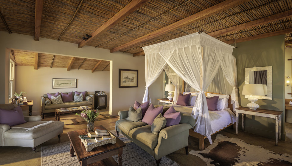 Karoo Suite, Karoo Lodge, Samara Private Game Reserve, Great Karoo, South Africa